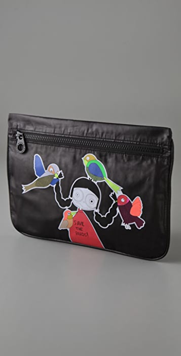 Marc by Marc Jacobs Miss Marc Packable Zip Pouch