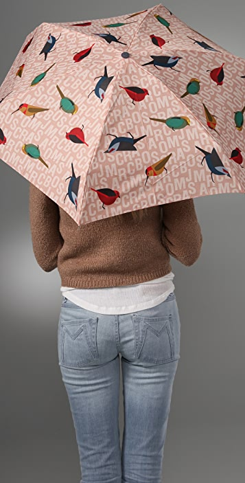 Marc by Marc Jacobs Jumbled Birds Umbrella