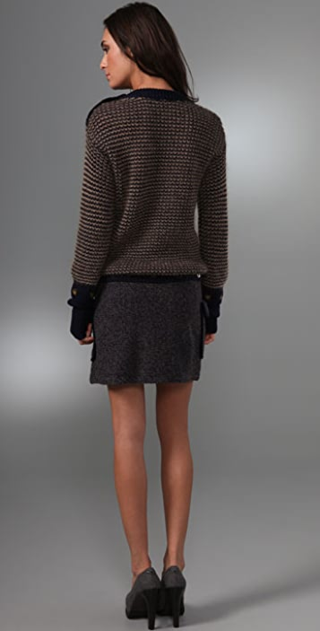 Marc by Marc Jacobs Ida Sweater Dress with Detachable Skirt