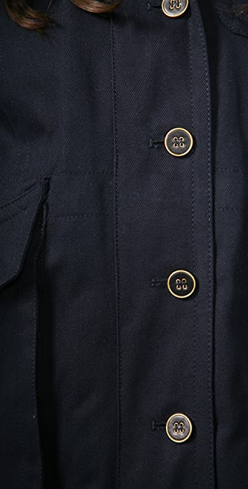 Marc by Marc Jacobs Parker Twill Coat
