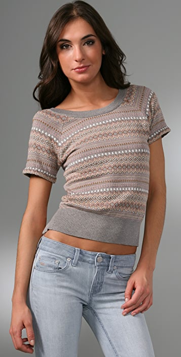 Marc by Marc Jacobs Janet Jacquard Sweater