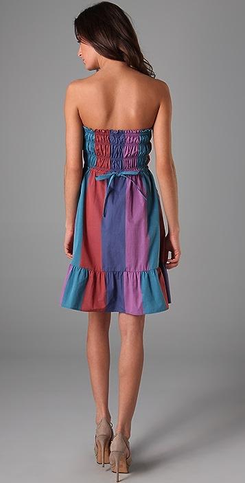 Marc by Marc Jacobs Cotton Stripe Dress