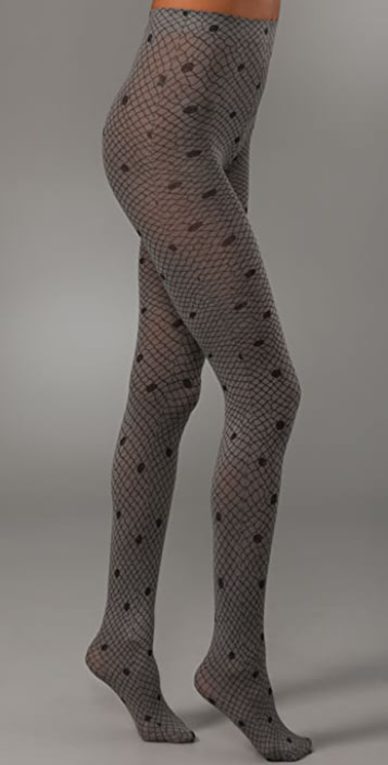Marc by Marc Jacobs Lattice Print Tights