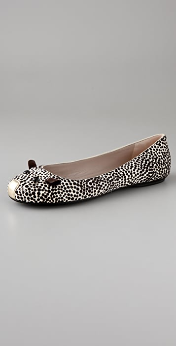 Marc by Marc Jacobs Spotted Mouse Flats