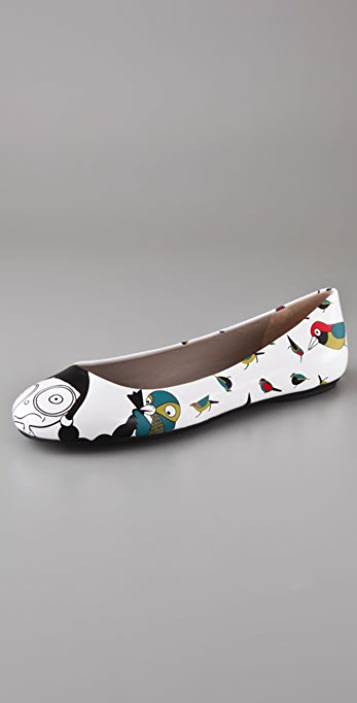 Marc by Marc Jacobs Miss Marc Ballet Flats