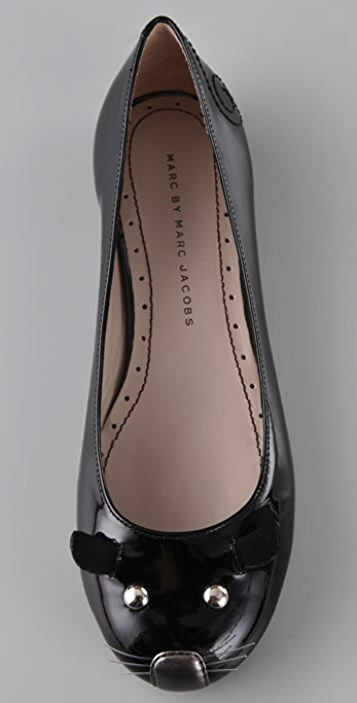 Marc by Marc Jacobs Patent Mouse Ballet Flats