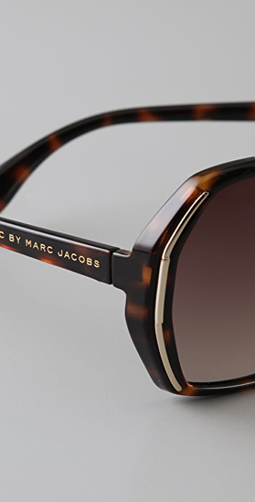 Marc by Marc Jacobs Silver Edge Sunglasses