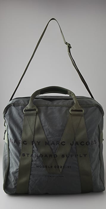 Marc by Marc Jacobs New Standard Supply Aviator Duffel