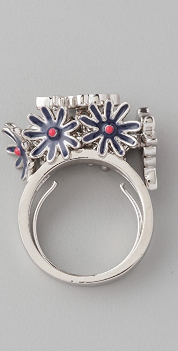 Marc by Marc Jacobs Miss Marc Posies Ring
