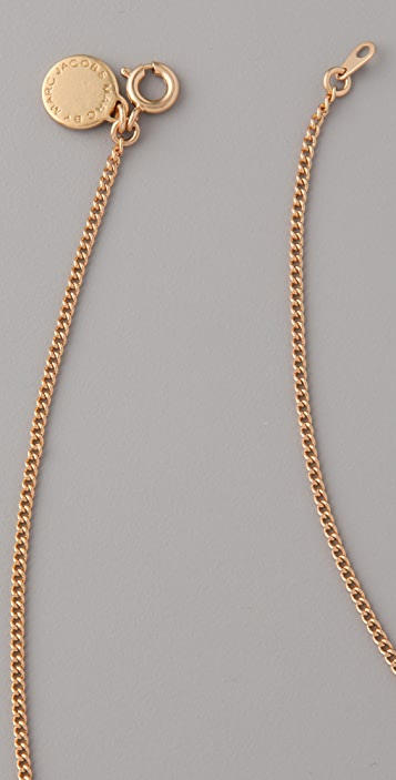 Marc by Marc Jacobs Surreal Delicate Heart Chain Necklace