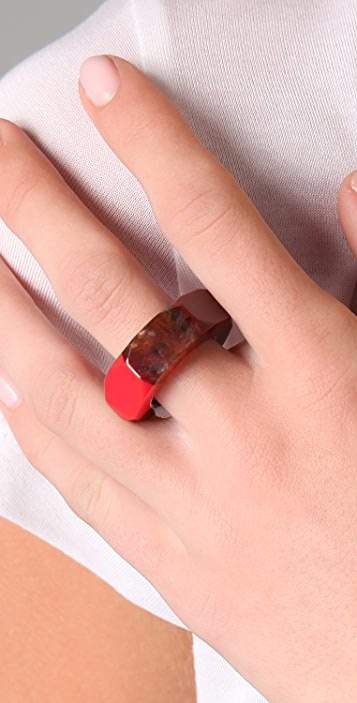 Marc by Marc Jacobs High Tide Colorblock Bolt Ring