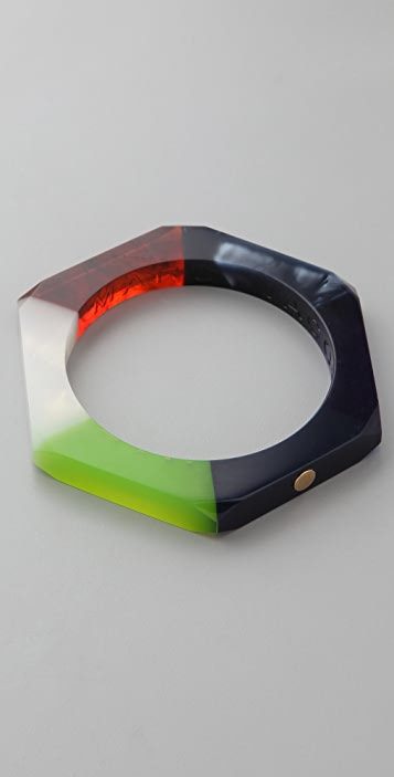 Marc by Marc Jacobs High Tide Colorblock Bolt Bangle