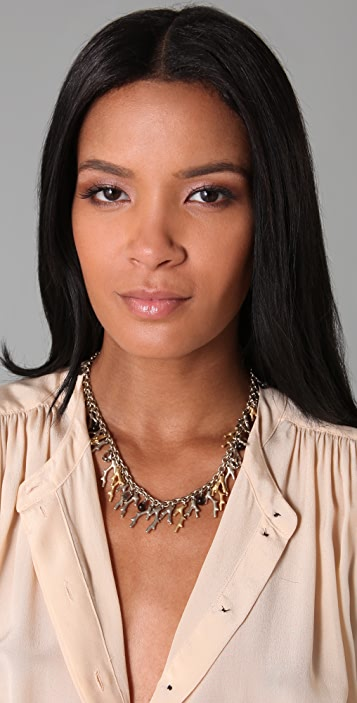 Marc by Marc Jacobs Coral Seas Fringe Necklace