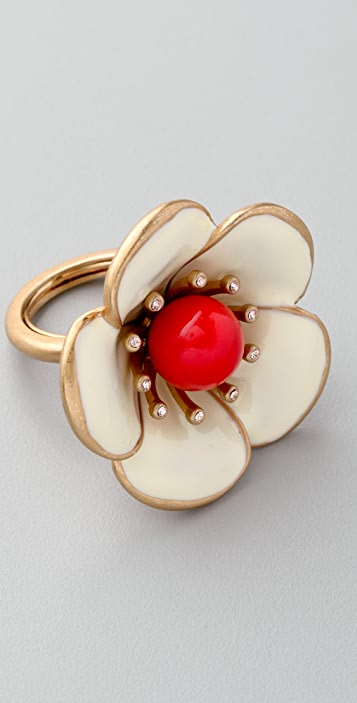 Marc by Marc Jacobs Rosa Rugosa Ring
