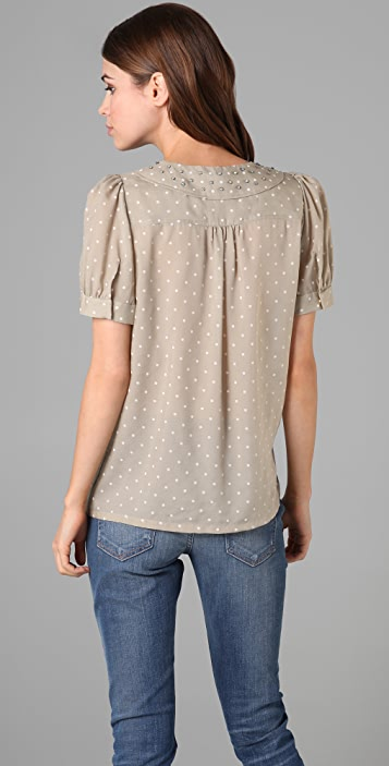 Marc by Marc Jacobs Josephine Dot Blouse