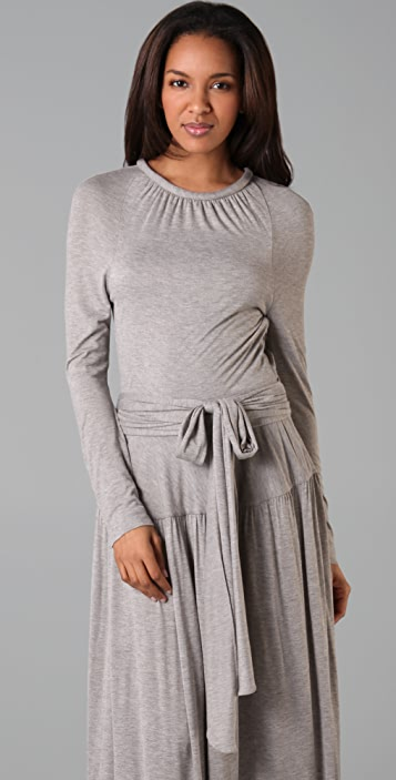Marc by Marc Jacobs Cee Cee Jersey Long Dress