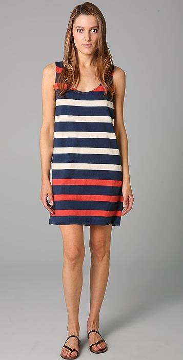 Marc by Marc Jacobs Schooner Stripe Jersey Dress