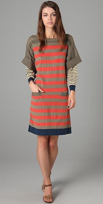 Marc by Marc Jacobs Beatrix Stripe Sweater Dress