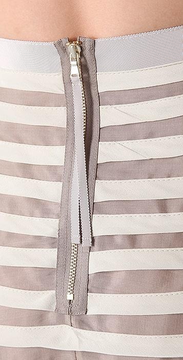 Marc by Marc Jacobs Oceane Stripe Full Skirt