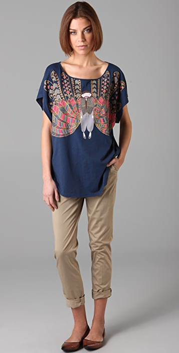 Marc by Marc Jacobs Plumage Miss Marc Tee