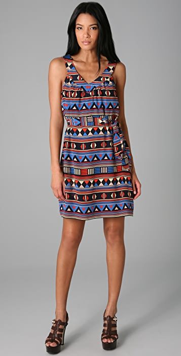 Marc by Marc Jacobs 10th Anniversary Frida Flag Print Dress