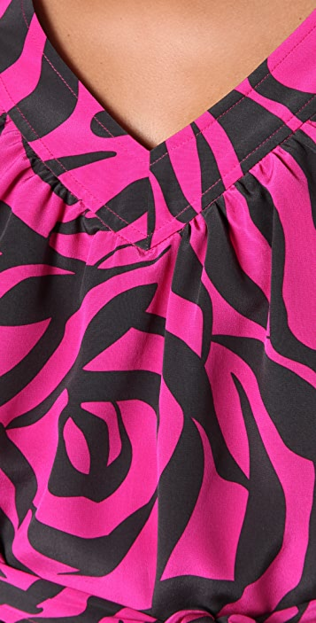 Marc by Marc Jacobs 10th Anniversary Roxy Rose Print Dress