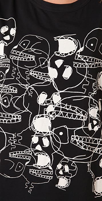 Marc by Marc Jacobs 10th Anniversary Skull Tee