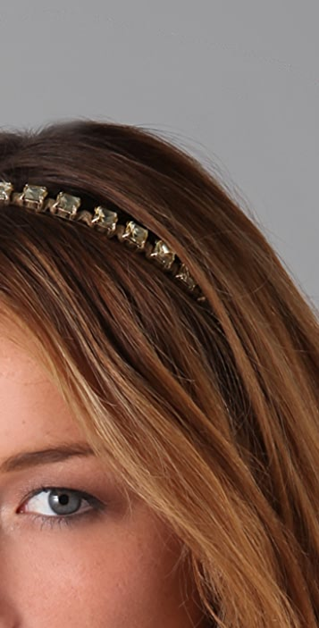 Marc by Marc Jacobs Wrapped Crystal Headband