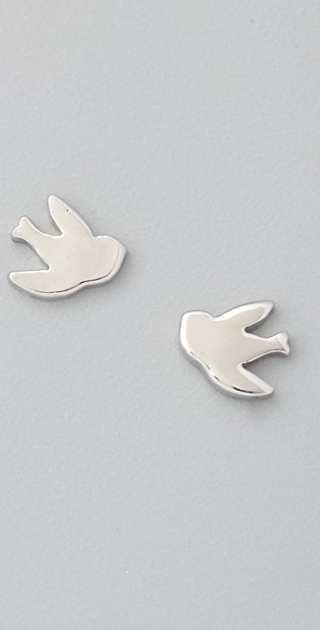 Marc by Marc Jacobs ReMARCable Dove Stud Earrings