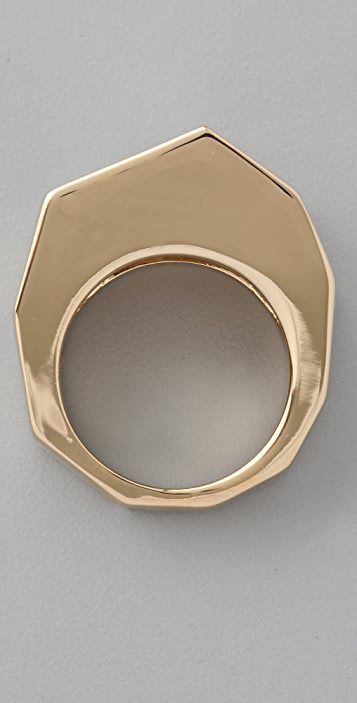 Marc by Marc Jacobs Organic Facet Cocktail Ring