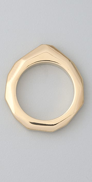 Marc by Marc Jacobs Organic Faceted Ring