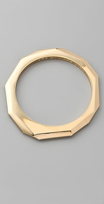 Marc by Marc Jacobs Skinny Faceted Bangle