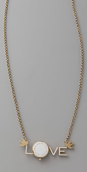 Marc by Marc Jacobs Love Bauble Necklace with Watch