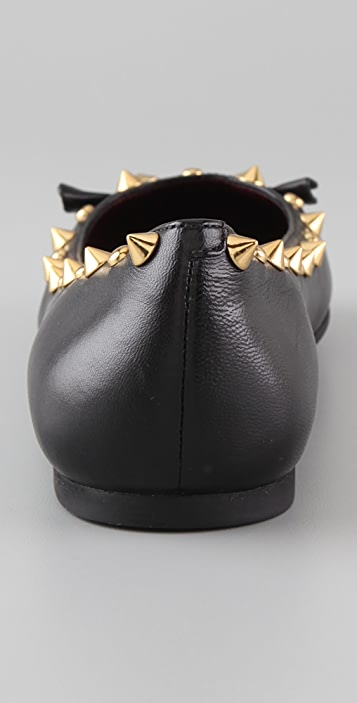 Marc by Marc Jacobs Studded Mouse Ballet Flats