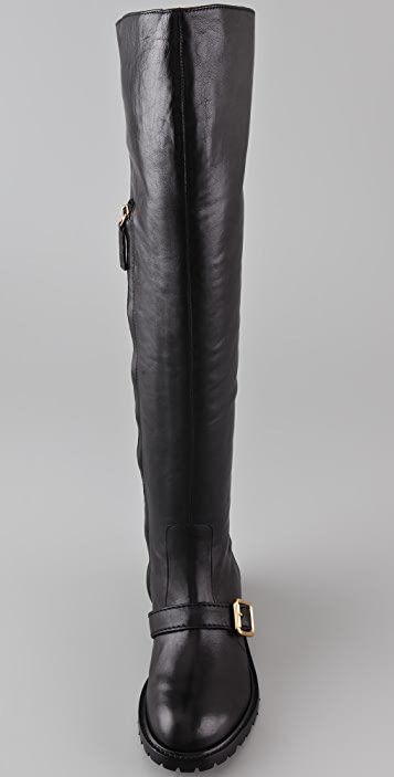 Marc by Marc Jacobs Over the Knee Engineer Boots