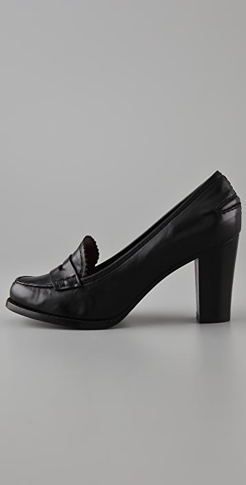 Marc by Marc Jacobs High Heel Penny Loafers