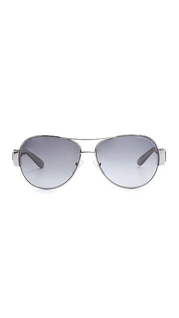 Marc by Marc Jacobs Polarized Aviator Sunglasses