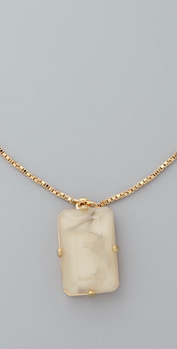 Marc by Marc Jacobs Faceted Pendant Necklace