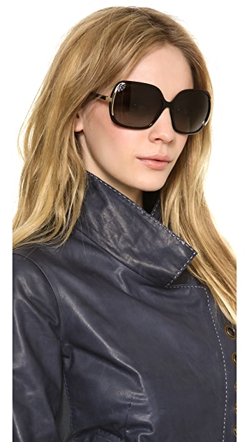 Marc by Marc Jacobs Polarized Oversized Sunglasses