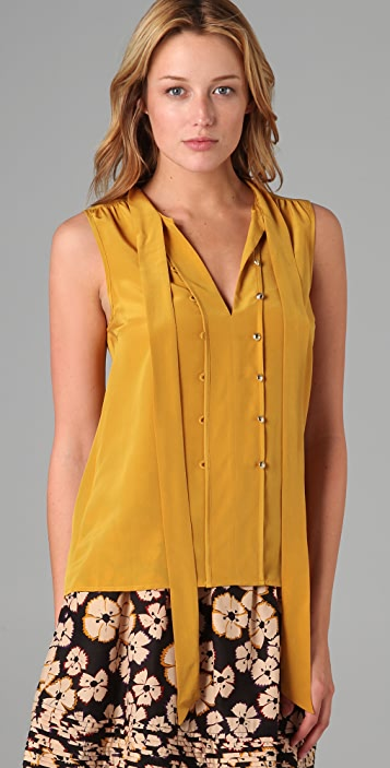 Marc by Marc Jacobs Fleetwood Sleeveless Blouse