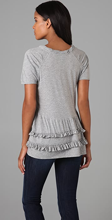 Marc by Marc Jacobs Feather Jersey Top