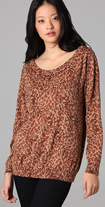 Marc by Marc Jacobs Leopard Print Sweater