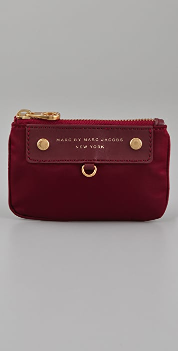 Marc by Marc Jacobs Preppy Nylon Key Pouch