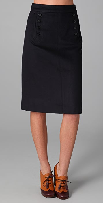 Marc by Marc Jacobs Jackie Cashmere Skirt