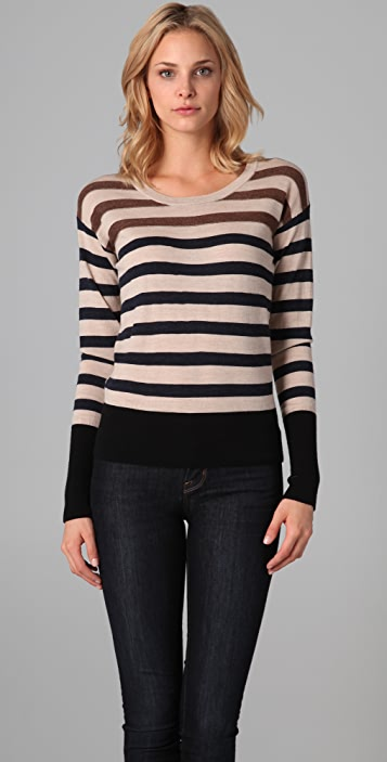 Marc by Marc Jacobs Jasmine Striped Sweater
