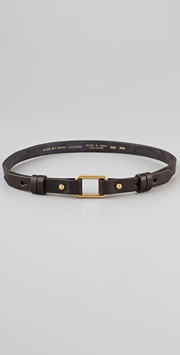 Marc by Marc Jacobs Prong Leather Waist Belt