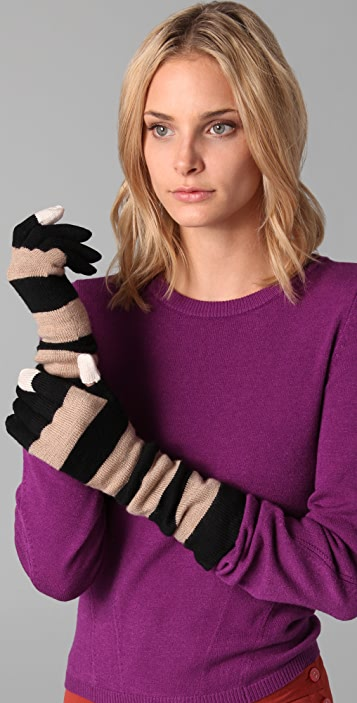 Marc by Marc Jacobs Balloon Miss Marc Gloves