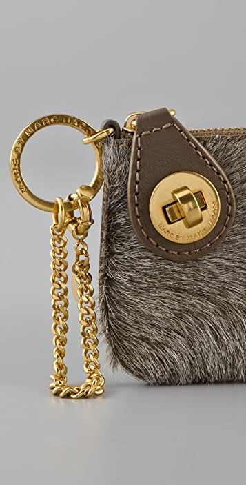 Marc by Marc Jacobs Pocket and a Pocket Pouch Keychain