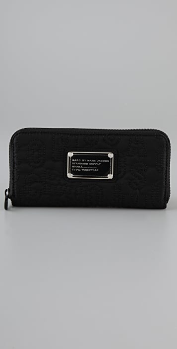 Marc by Marc Jacobs Pretty Nylon Slim Zip Wallet