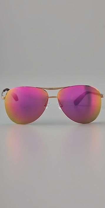 Marc by Marc Jacobs Frameless Aviator Sunglasses